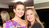 Kate Hudson and Jennifer Meyer attend Gilt.com, Jennifer Meyer & Jenna Dewan Tatum 2017 Launch Exclusive Jewelry Collection Benefitting Baby2Baby at Sunset Tower Hotel in West Hollywood, California.