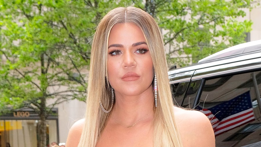 Khloe Kardashian arrives at the NBC Universal Upfronts in New York City on May 15, 2017.