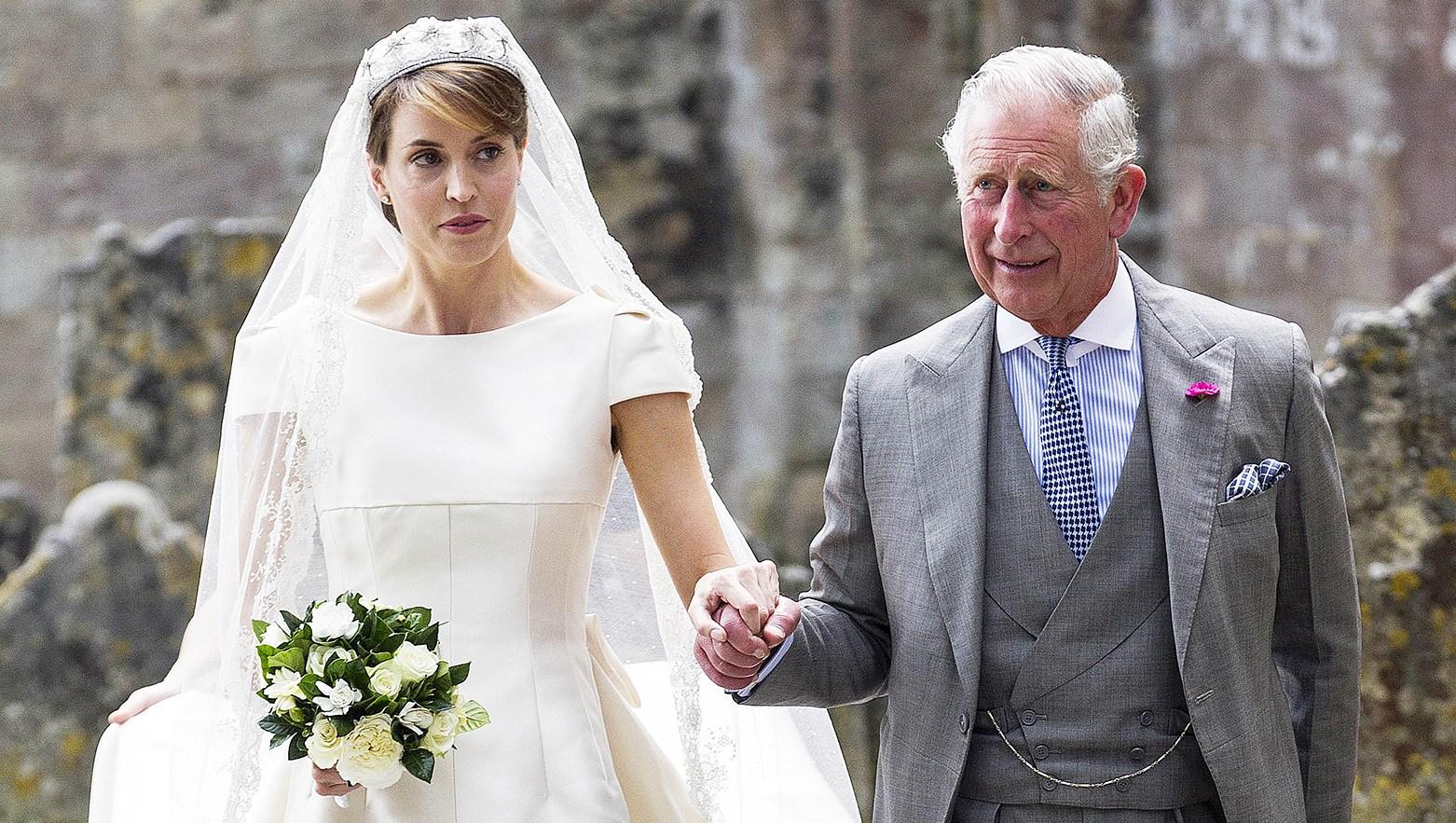 Prince Charles Gives Alexandra Knatchbull Away