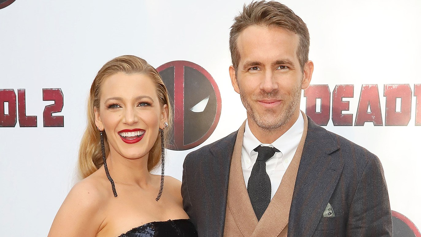 Blake Lively Ryan Reynolds Labor