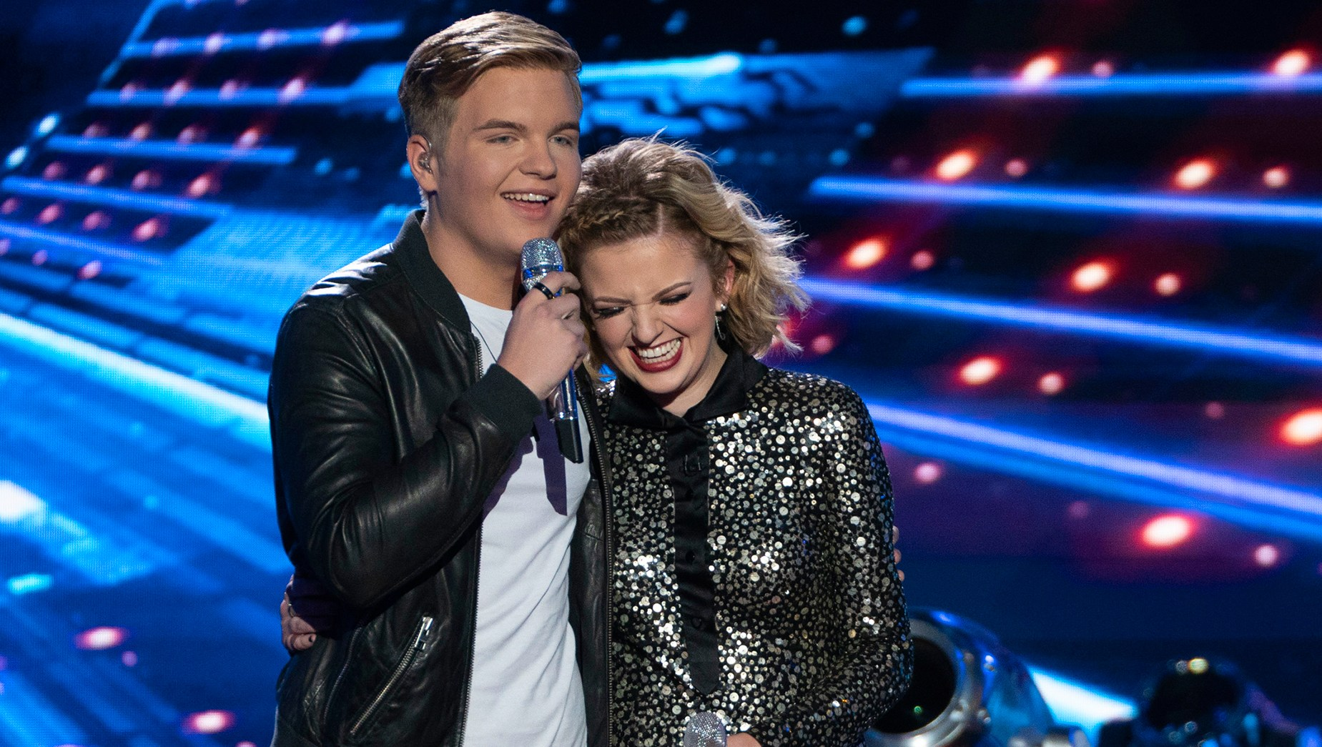 Caleb Lee Hutchinson and Maddie Poppe