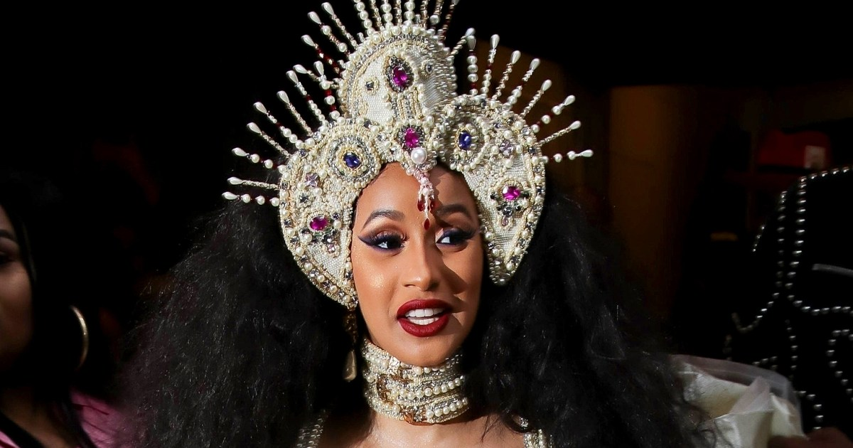 Cardi B S 1 Fan With Giant Tattoo Of Rapper S Face Revealed: Cardi B's Bodyguards Allegedly Attacked Fan Who Asked For