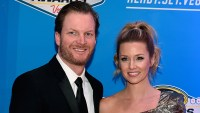 Dale Earnhardt Jr. and his wife Amy Reimann.