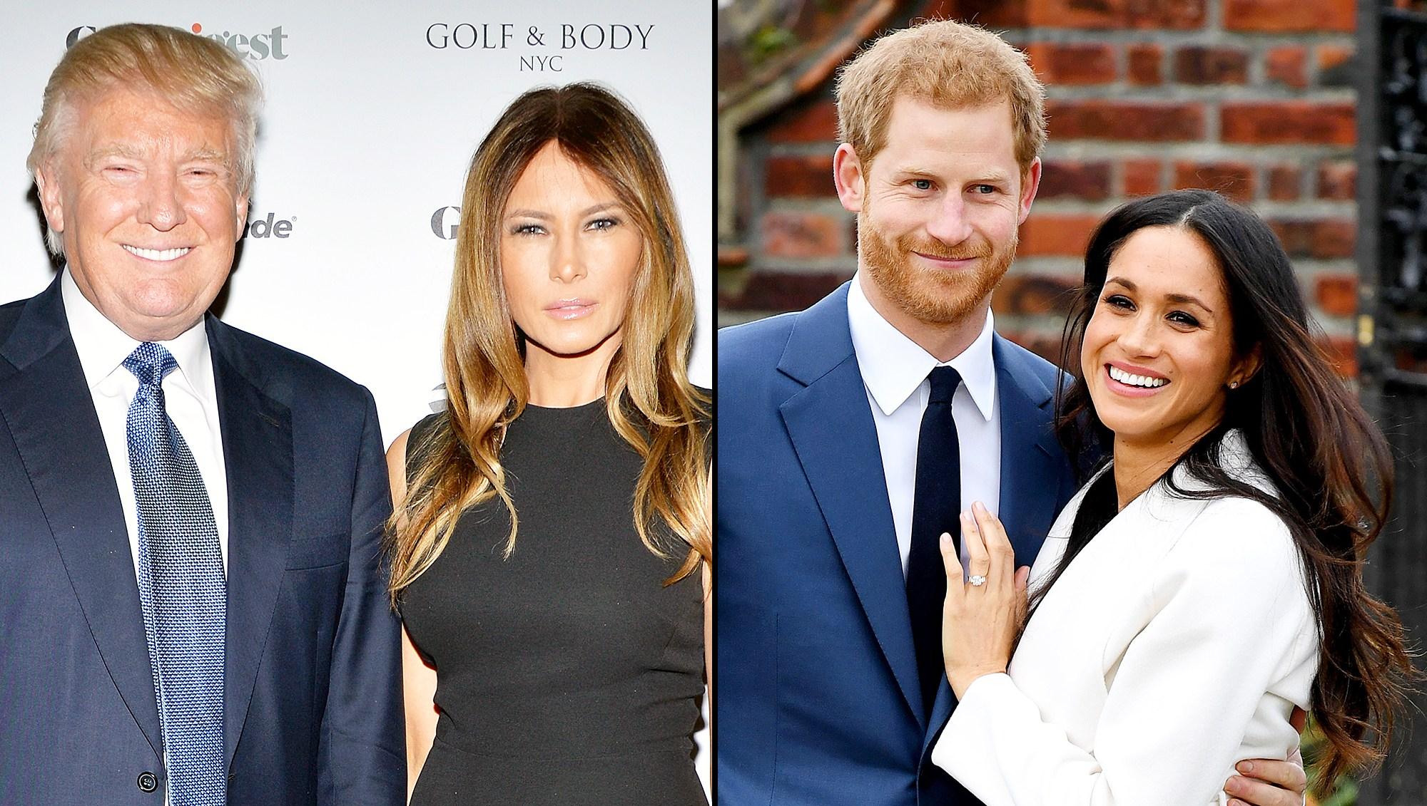 Donald Trump Melania Trump Royal Wedding Gift Prince Harry Meghan Markle