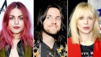 Frances Bean Cobain, Isaiah Silva, and Courtney Love