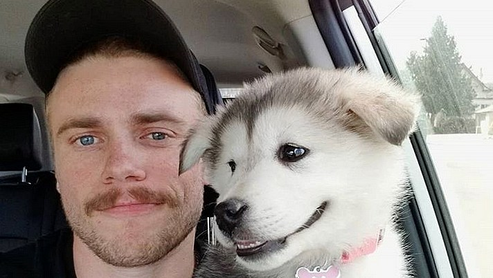 Gus Kenworthy and Beemo