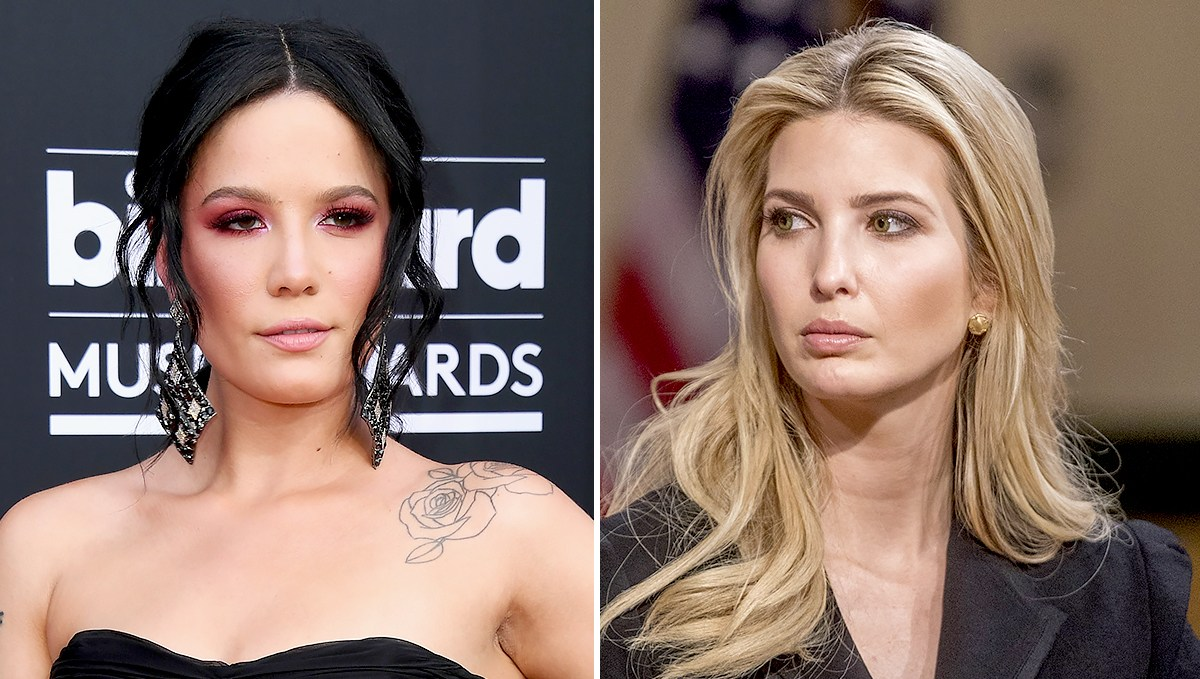Halsey and Ivanka Trump