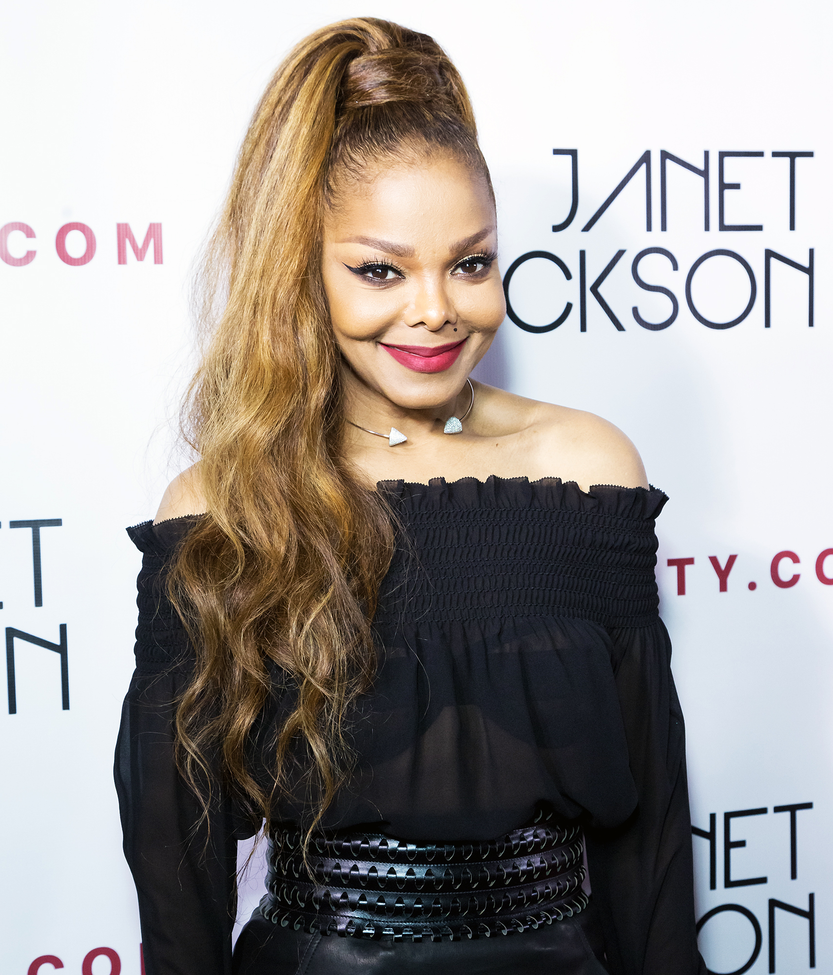 Janet Jackson had police check on son after husband acted 'aggressively'