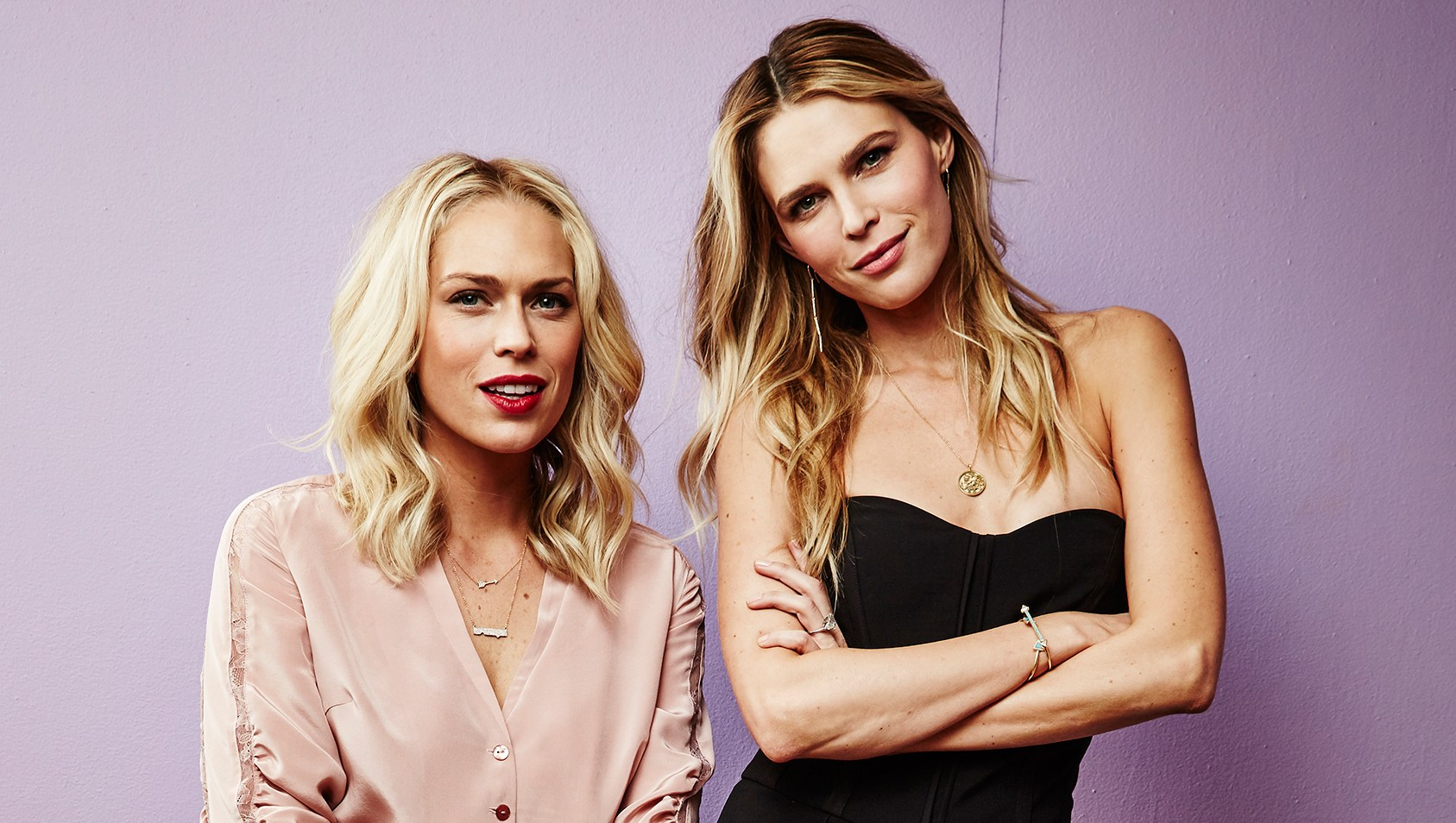 Erin Foster and Sarah Foster