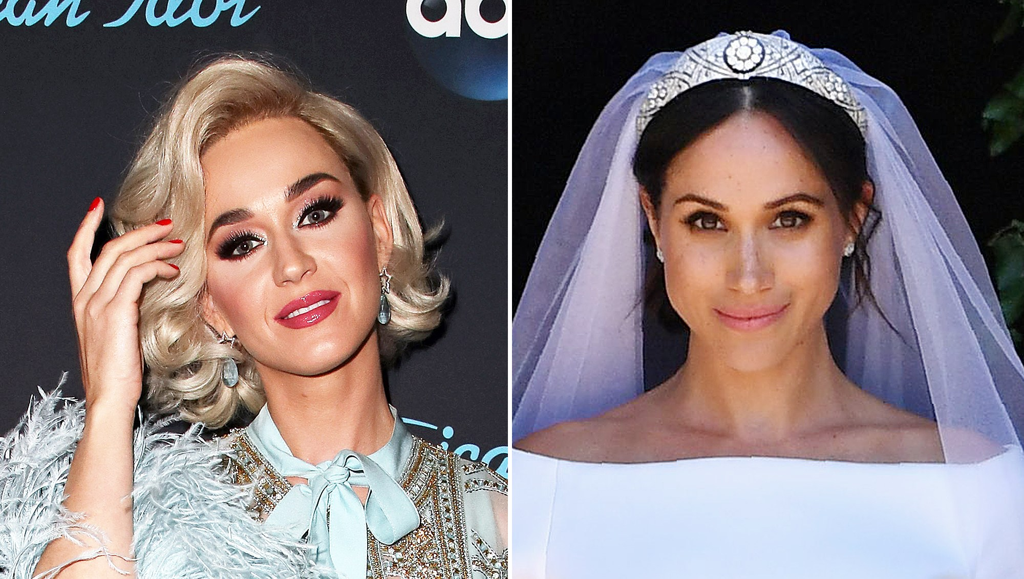 Katy Perry Meghan Markle Wedding Dress Fitting