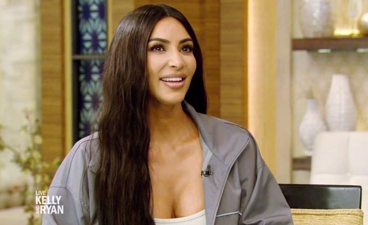 Kim Kardashian Live With Kelly and Ryan