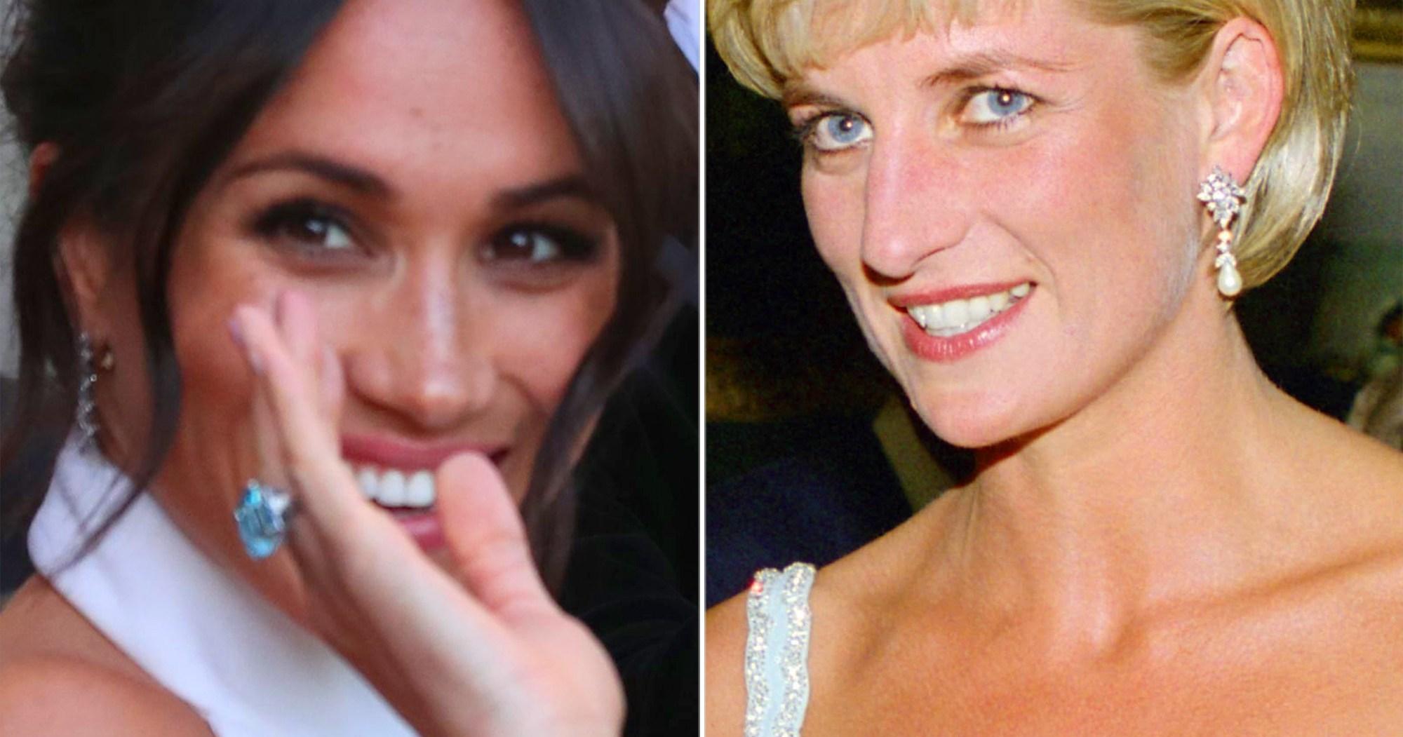 Meghan Markle Wore Princess Di's Jewels in Australia for a Sweet Reason