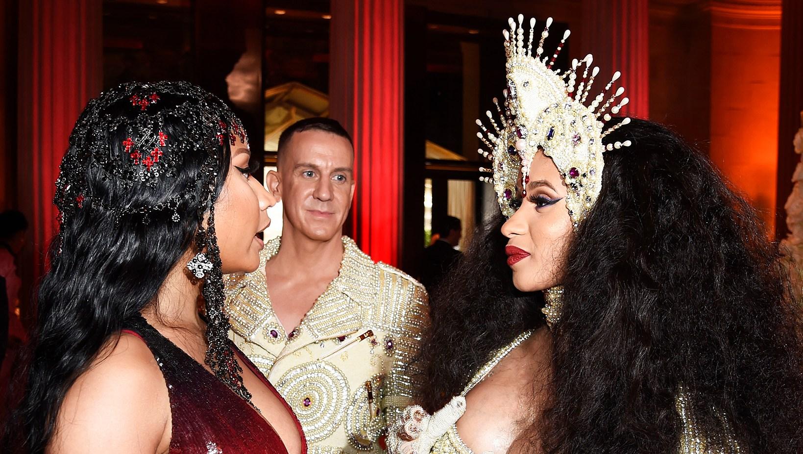 Nicki Minaj Cardi B Met Gala 2018