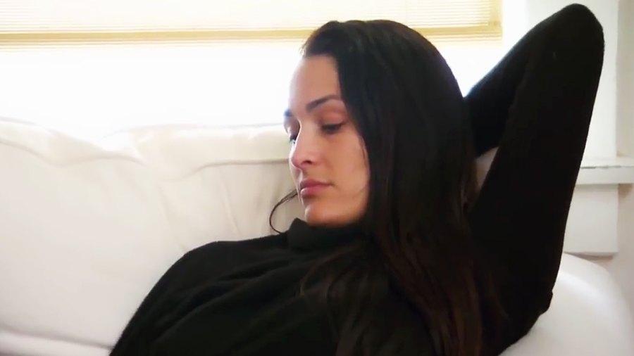 Nikki Bella crying Total Bellas