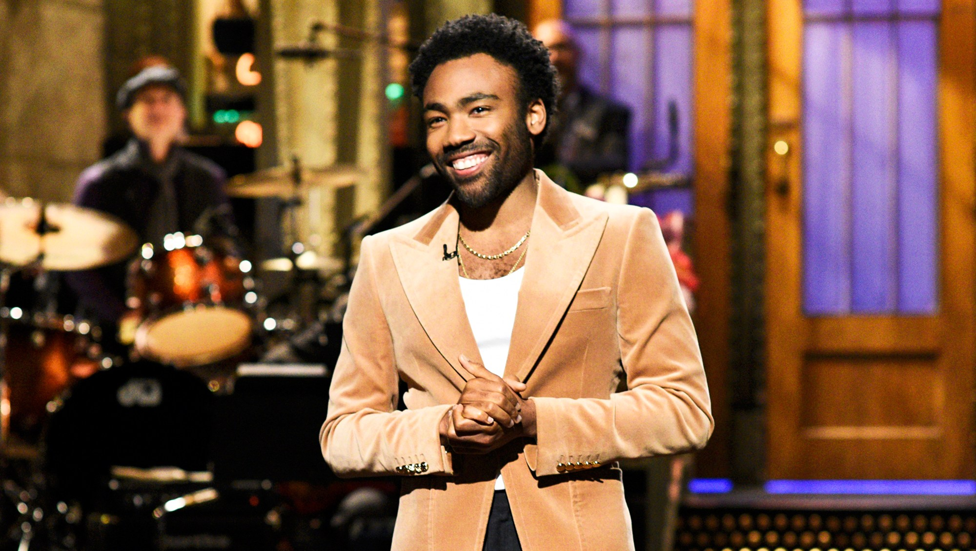 Donald Glover during 'Saturday Night Live'