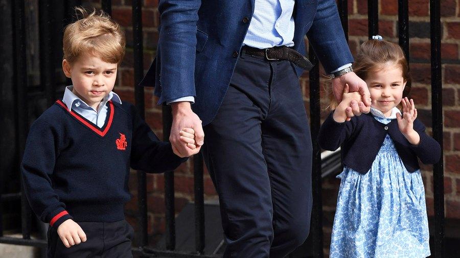 Prince George Princess Charlotte Hand-Me-Downs