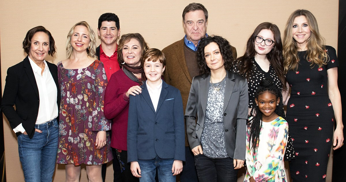 roseanne cast reacts to reboot cancellation