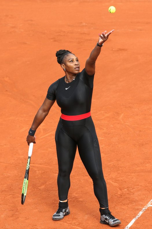 Serena Williams Wears Inspiring Catsuit at 2018 French ...