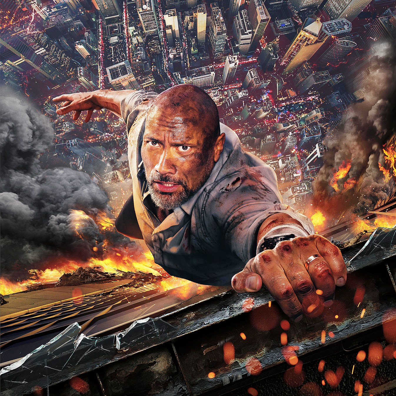 Dwayne Johnson Skyscraper