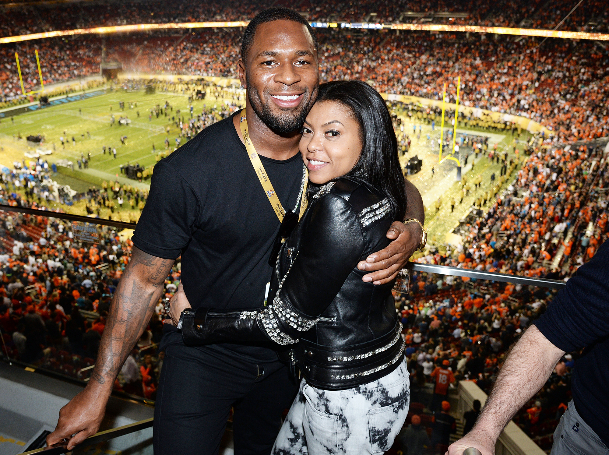 Henson is engaged to former National Football League  pro Kelvin Hayden