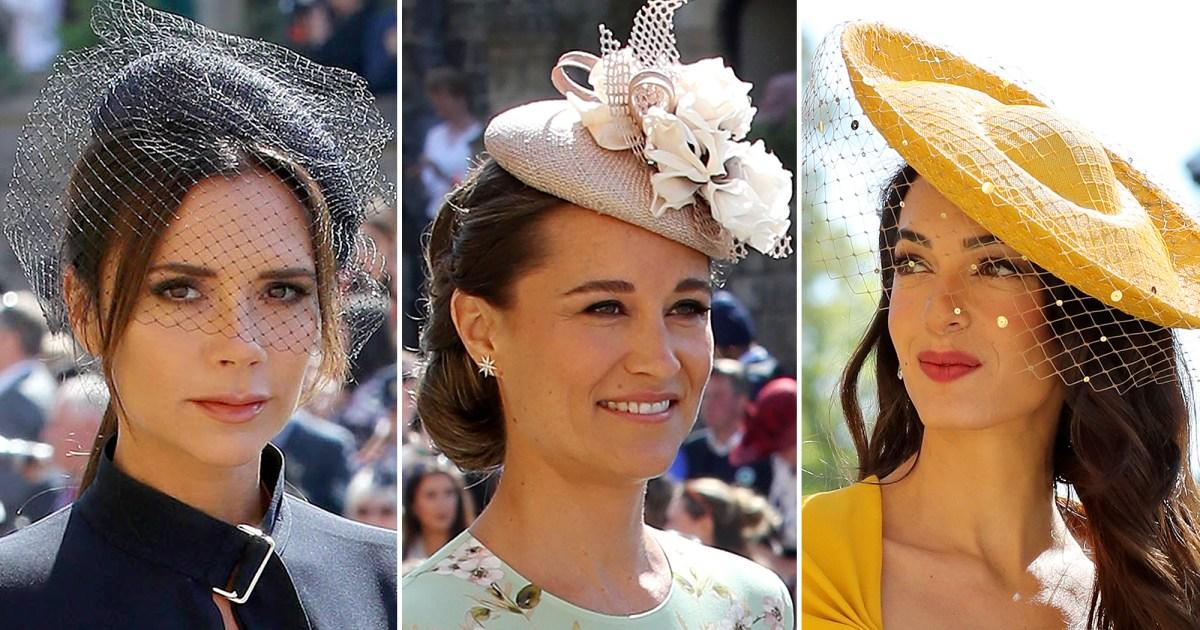 Royal Wedding 2018  Wildest Fascinators da99356887f