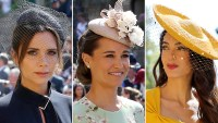 Wildest Fascinators, Royal Wedding, Victoria Beckham, Pippa Middleton, Amal Clooney