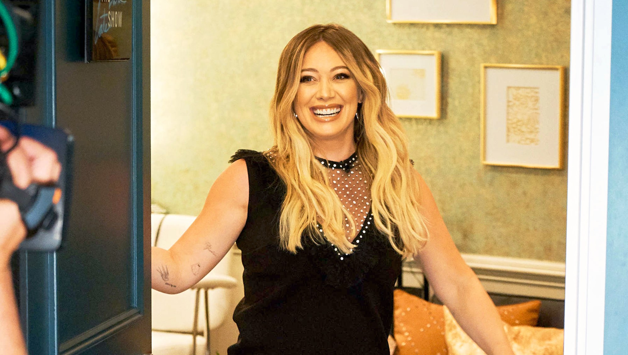 Hilary Duff on 'The Late Late Show with James Corden'