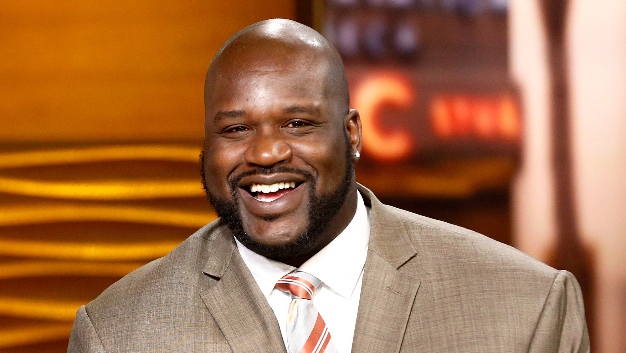 Shaquille O'Neal appears on 'Today' show