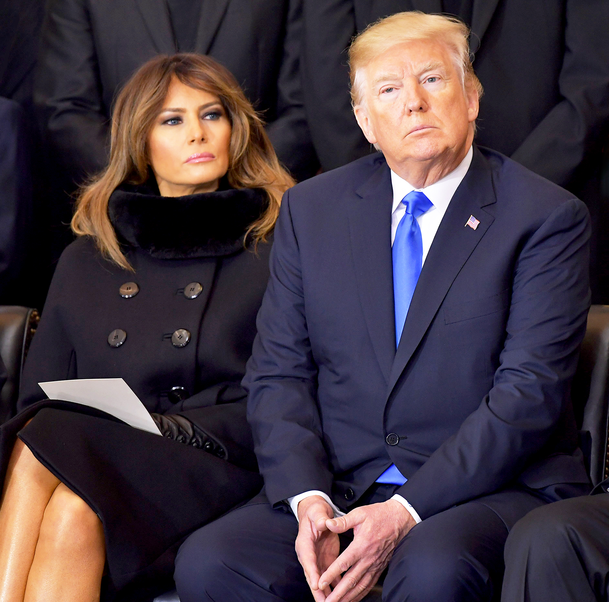 President Trump Says Melania's Controversial Jacket Directed at 'Fake News Media'