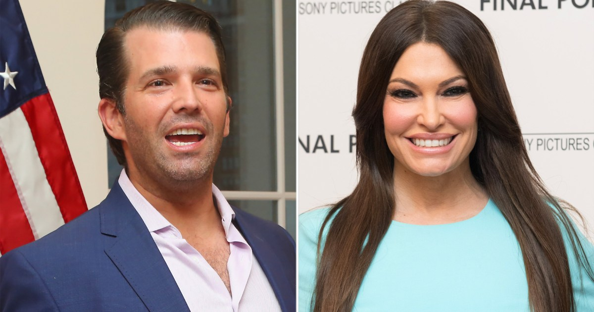 Donald Trump Jr And GF Kimberly Guilfoyle Attend Party