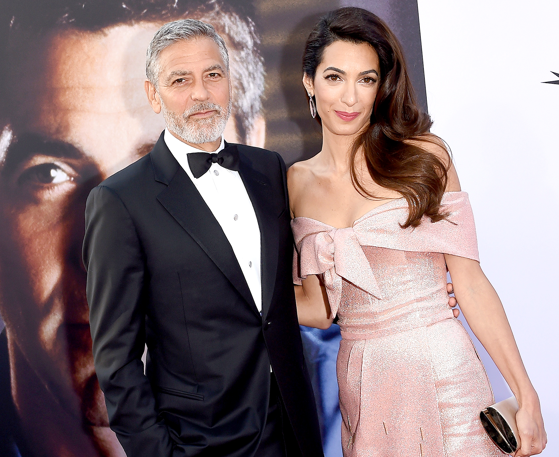 George and Amal Clooney donate $100,000 to support immigrant children