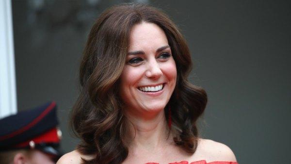 Kate Middleton Red Alexander McQueen Dress