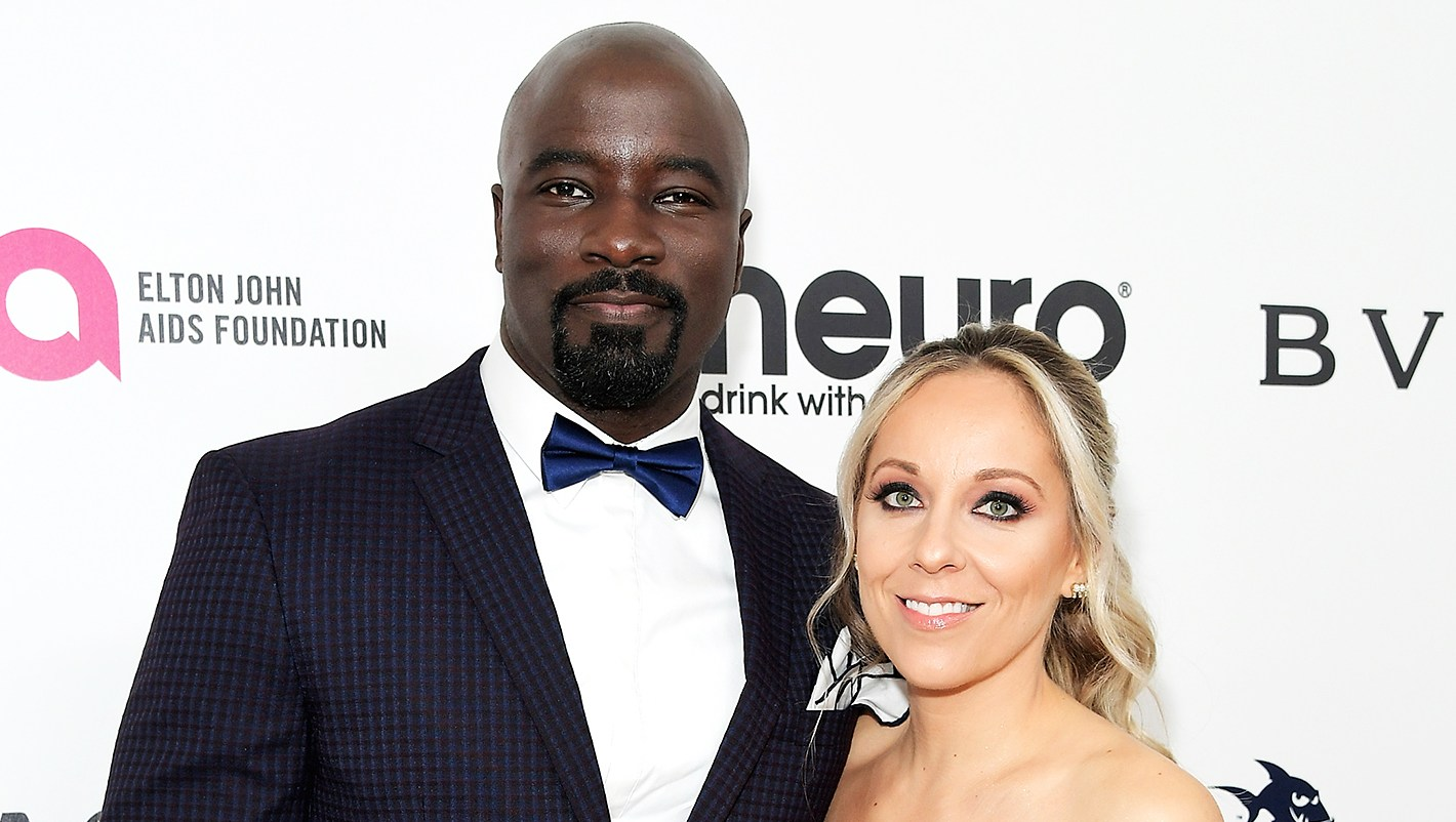 Mike Colter Iva Colter pregnant