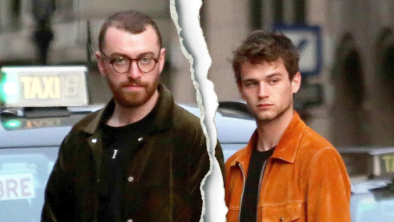 Celebrity Splits of 2018 Sam Smith Brandon Flynn split1