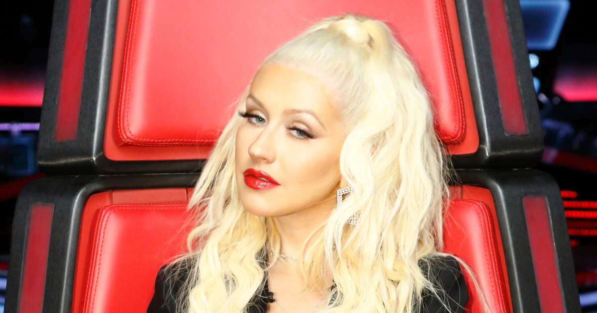 PHOTOS - Christina Aguilera : enceinte de 7 mois, elle