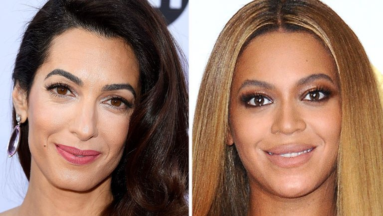 Amal Clooney and Beyonce