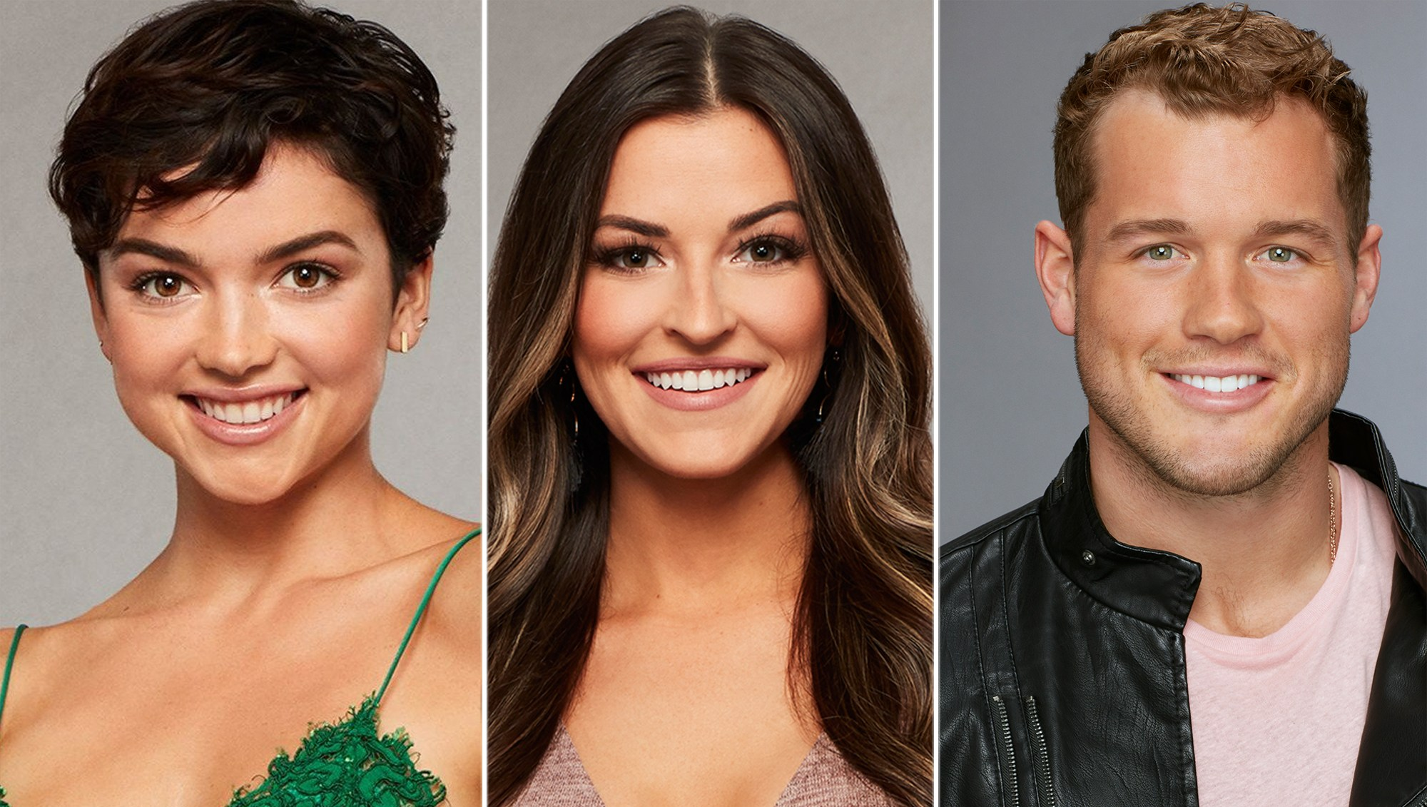 Bekah Martinez, Tia Booth and Colton Underwood