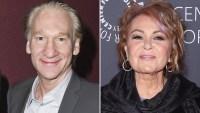 Bill Maher, Friend, Roseanne Barr, Multiple Personalities