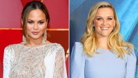Chrissy Teigen and Reese Witherspoon