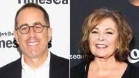 Jerry Seinfeld Roseanne Barr