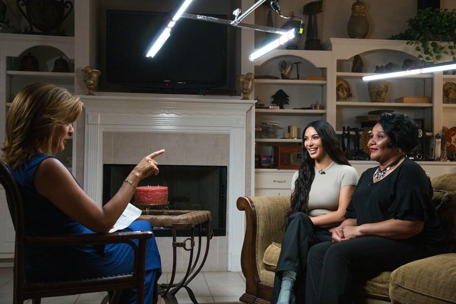 Kim Kardashian Alice Johnson Joint Interview