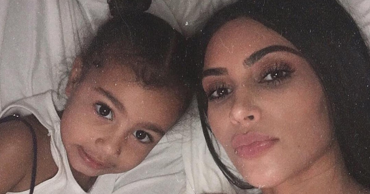 Kim Kardashian Shares Video Of Daughter North Holding Baby Chicago
