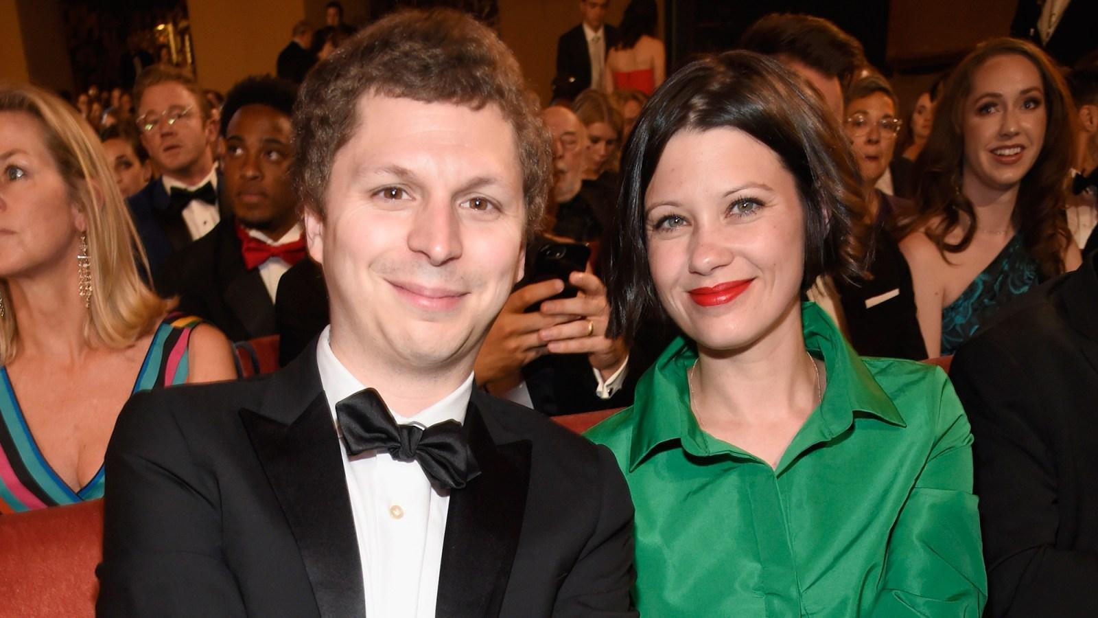 Michael Cera Brings Wife Nadine To The 2018 Tony Awards