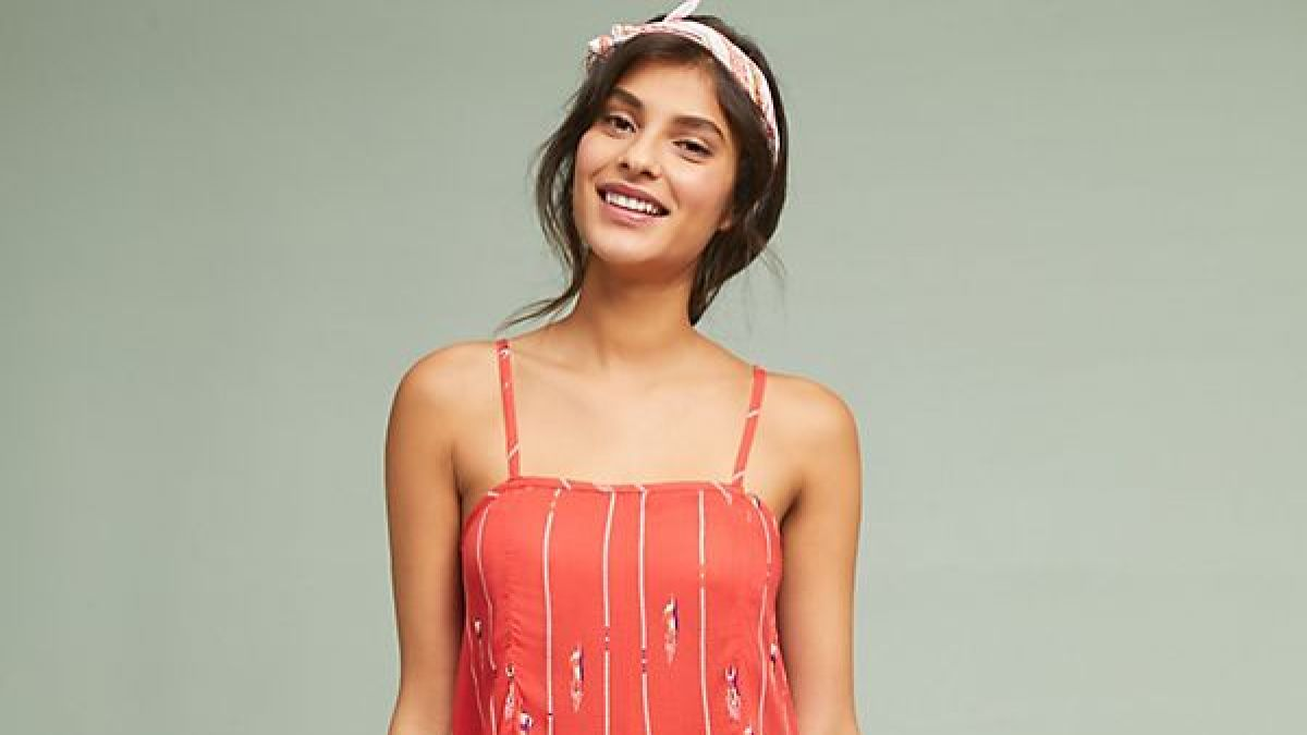 c3a58ffb2444 We Found the Cutest Jumpsuit at Anthropologie for Under  100