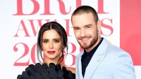 Cheryl Cole and Liam Payne attend The BRIT Awards 2018 held at The O2 Arena in London, England.