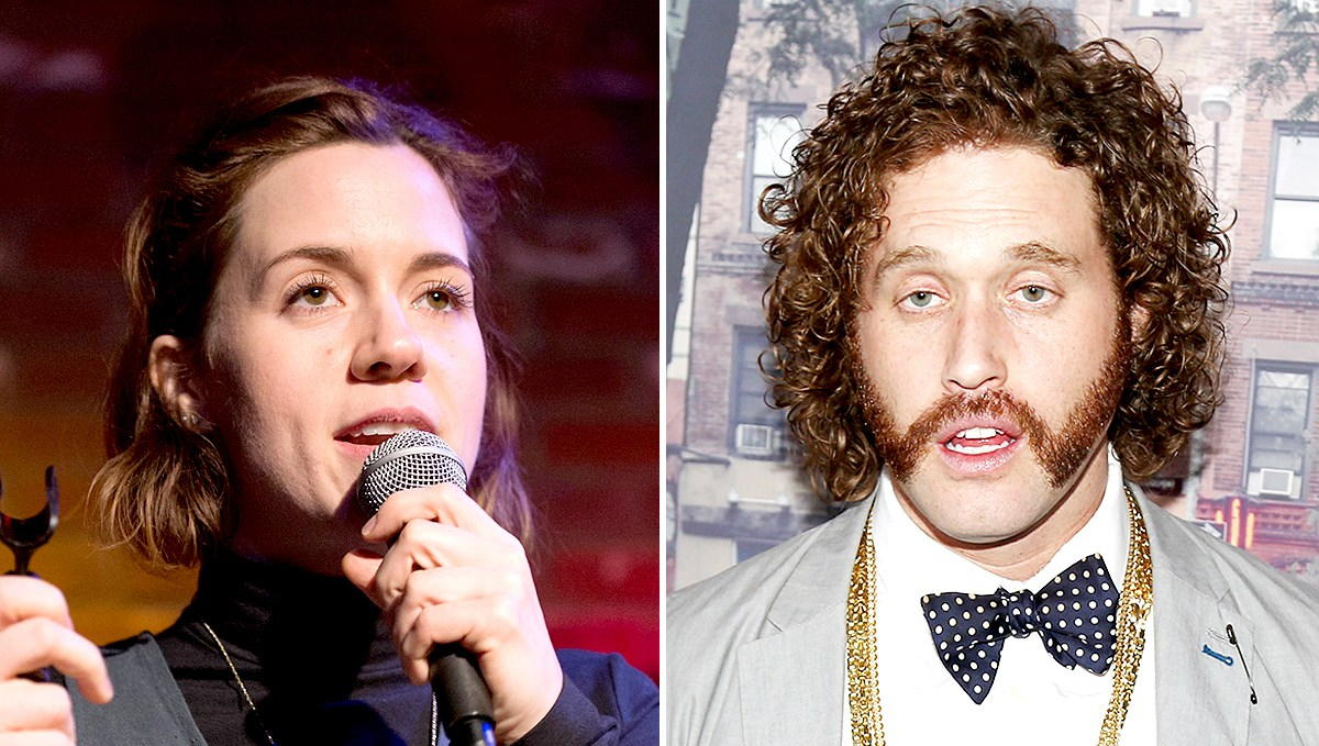 Alice Wetterlund and T.J. Miller