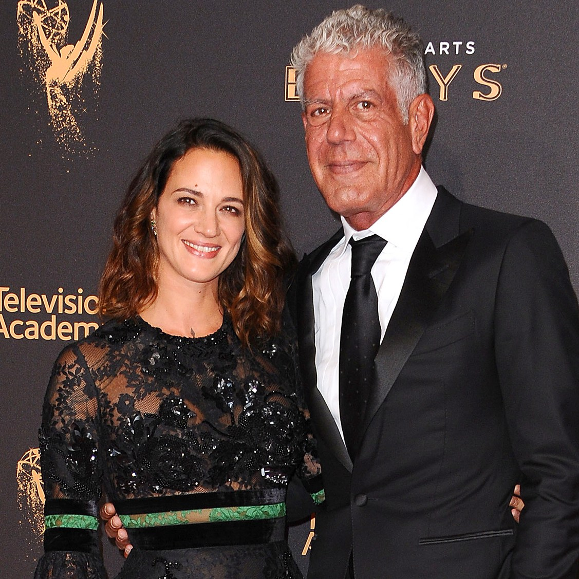 Asia Argento and Anthony Bourdain
