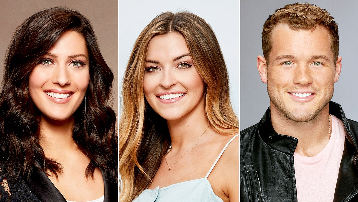 Becca Kufrin, Tia Booth, and Colton Underwood