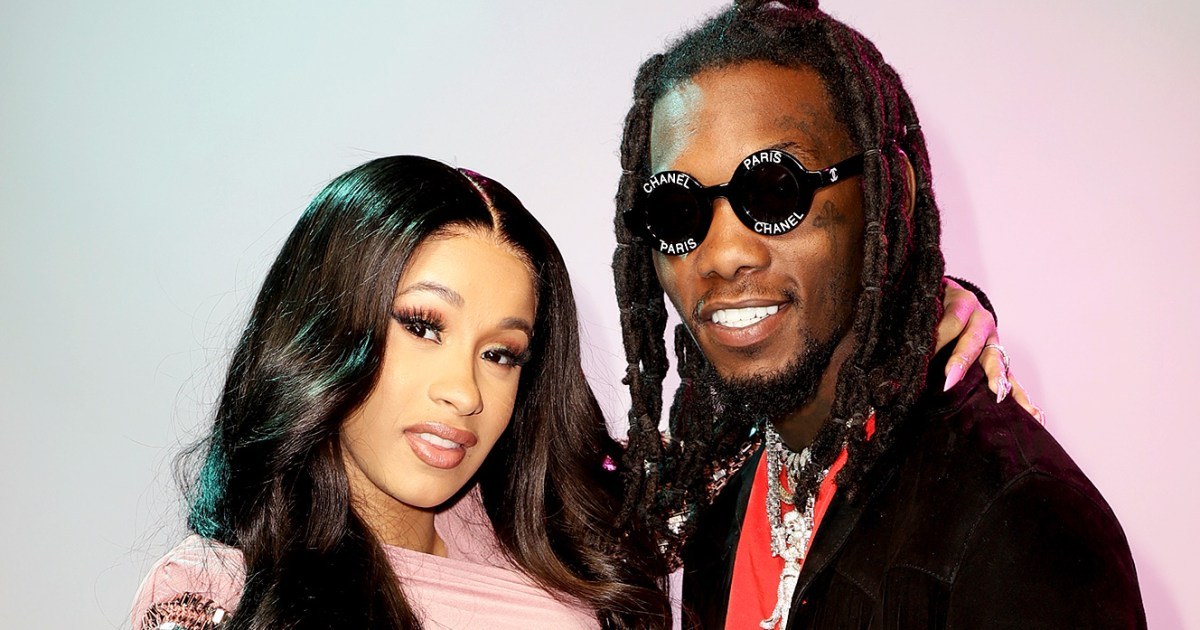 Offset Returns Home To Cardi B After Gun Arrest