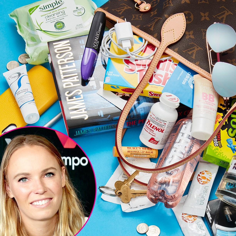 Inside Caroline Wozniacki's bag